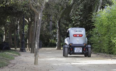 ACCIONA gestionará el mantenimiento de las zonas verdes del norte de Pamplona