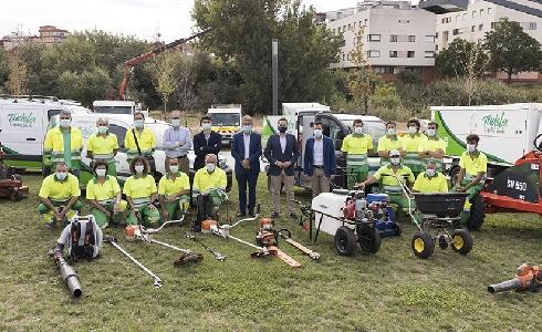 ACCIONA lidera el nuevo servicio de mantenimiento de las zonas verdes de Tudela