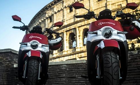 ACCIONA lleva su servicio de motosharing a Roma