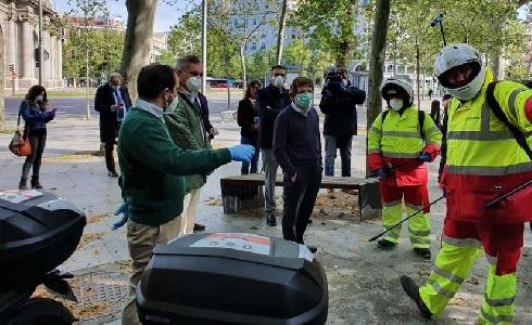 ACCIONA se adjudica los servicios de limpieza y desinfección de las estaciones y bicicletas de BiciMad