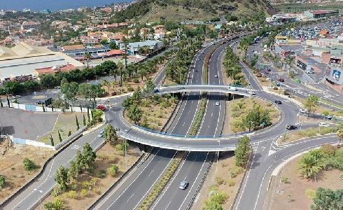 ACCIONA se hace con la gestión del mantenimiento de las zonas verdes en carreteras de Tenerife