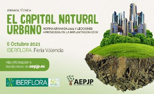 AEPJP organiza una jornada sobre el capital natural urbano en el marco de Iberflora