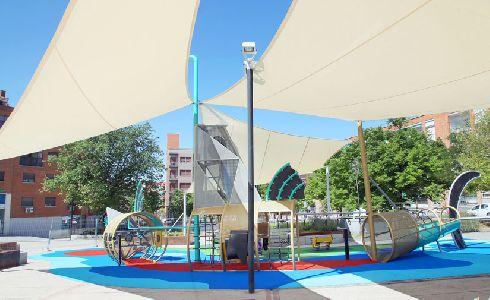 Alcobendas abrirá al público el parque infantil