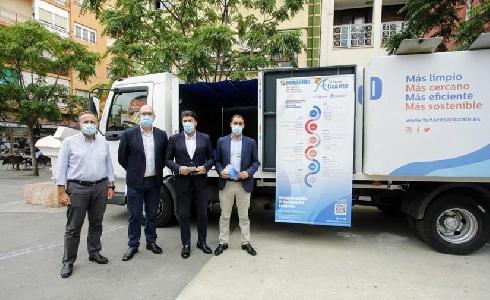 Alicante amplía el servicio de ecopuntos móviles con 16 nuevas localizaciones