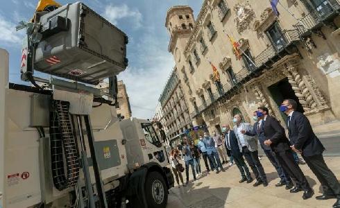 Alicante aumenta en ocho puntos la recogida selectiva de envases ligeros en 2020