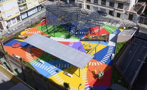 Almería concluye la remodelación de la Plaza López Falcón