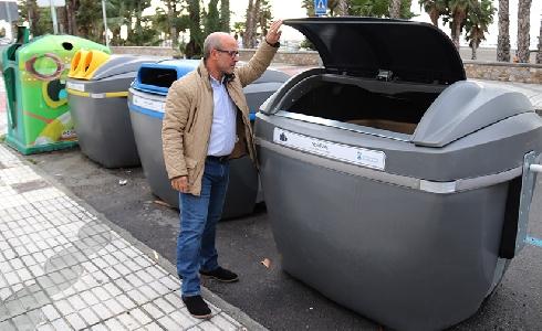 Almuñécar implanta un nuevo sistema de recogida de basura con nuevos contenedores