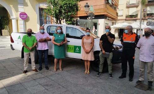 Almuñécar presenta nuevo vehículo para el servicio de playas