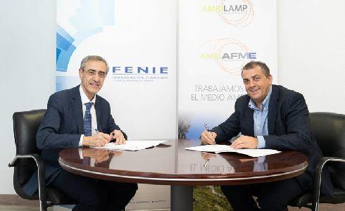 AMBILAMP y FENIE seguirán fomentando el reciclaje de aparatos eléctricos entre las empresas instaladoras