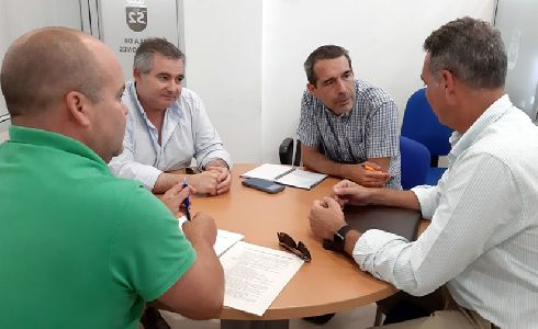 Arcgisa y el Ayuntamiento de La Linea organizan la puesta en funcionamiento del nuevo sistema de recogida de basuras