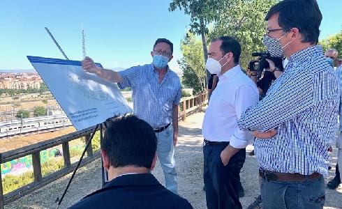 Arrancan las obras de mejora del parque Ronda del Sur-Santa Catalina en el distrito madrileño de Puente de Vallecas