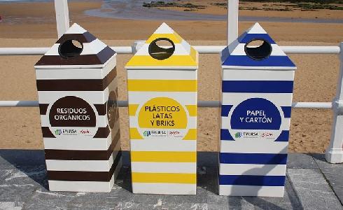 Aumenta el reciclaje en la ciudad de Gijón