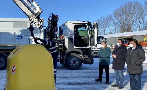 Ávila instalará el contenedor amarillo en todos los núcleos de población en febrero