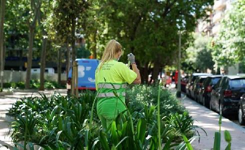 Barcelona incrementa los equipos municipales de limpieza