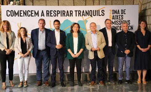Barcelona y cuatro municipios más del área metropolitana quieren regular la circulación de los vehículos más contaminantes para mejorar la calidad del aire y la salud pública