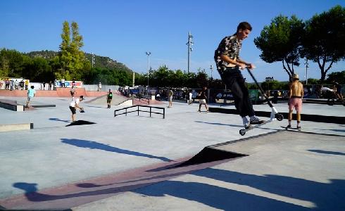 Calviá abre al publico el Skate Park de Galatzó