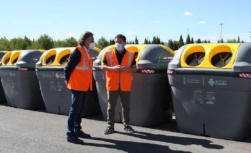 Castellón colabora con Ecoembes para sumar 150 nuevos contenedores e incrementar el reciclaje