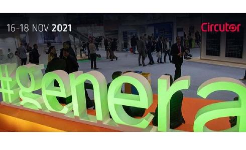 CIRCUTOR estará presente en Genera 2021, Feria Internacional de Energía y Medio Ambiente
