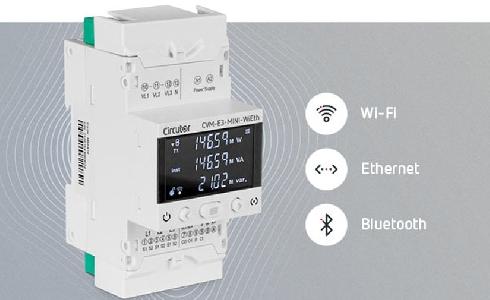 CIRCUTOR presenta el nuevo CVM-E3-MINI-WiEth