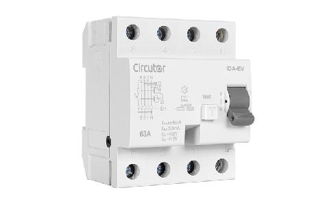 CIRCUTOR presenta su nuevo interruptor diferencial tipo A específico para cargadores de vehículos eléctricos