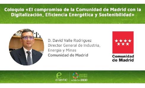 Coloquio EnerTIC con la Comunidad de Madrid
