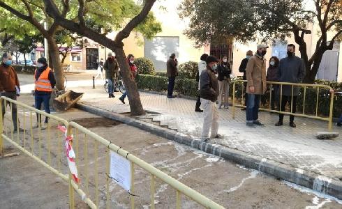 Comienza GrowGreen en el barrio de Benicalap de Valencia con las obras de un corredor verde azul