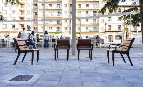 Comienzan las obras de la segunda fase de la reurbanización del Paseo Ramón y Cajal de Huesca