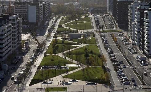 Concluye la décima y última fase del nuevo desarrollo urbanístico de Arrosadía-Lezkairu en Pamplona