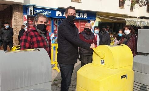 Concluye la primera fase de reparación de la red de recogida neumática de residuos del barrio de Pino Montano de Sevilla