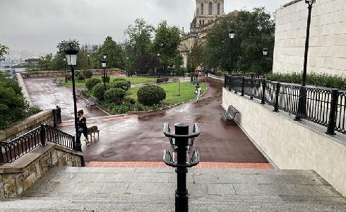 Concluyen las obras de mejora de la Plaza Juan XXIII de Bilbao