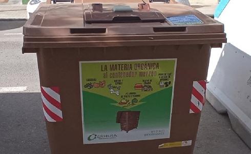 El Ayuntamiento de Huesca instala contenedores de materia orgánica en los barrios de San Lorenzo y del Casco Antiguo