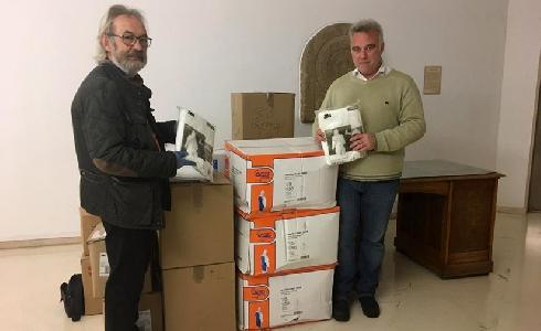 El Ayuntamiento de Logroño entrega equipos de protección individual para el personal de limpieza