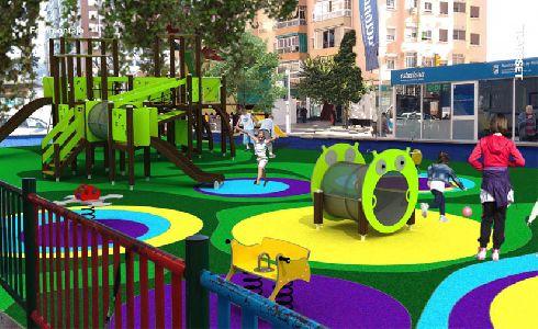El Ayuntamiento de Málaga pone en marcha actuaciones en parques infantiles por importe de casi un millón de euros