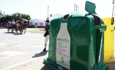 El Ayuntamiento de Málaga y Ecovidrio impulsan el reciclaje de vidrio