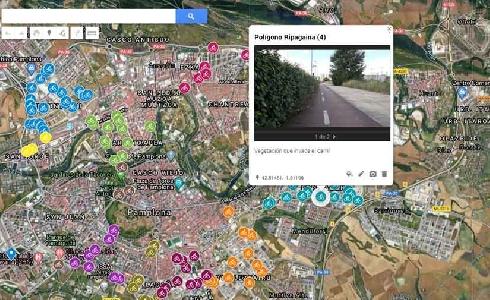 El Ayuntamiento de Pamplona está realizando una auditoria de las infraestructuras ciclables en el término municipal