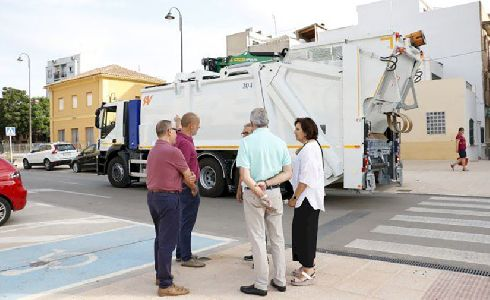 El Ayuntamiento de Quart de Poblet incorpora un innovador camión a la flota de vehículos para la recogida de residuos