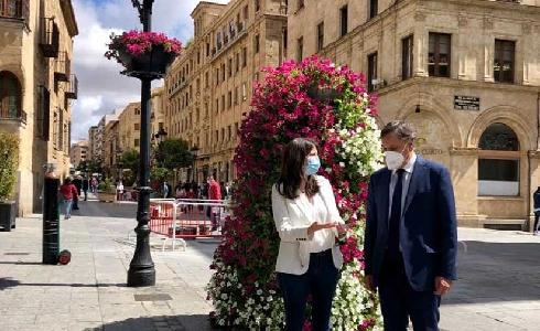 El Ayuntamiento de Salamanca continúa su apuesta por introducir la naturaleza en los espacios urbanos