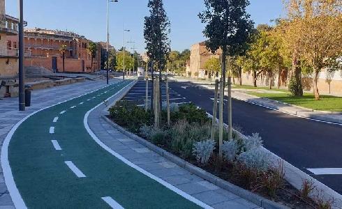 El Ayuntamiento de Salamanca reabre el tráfico de vehículos en la Avenida de la Merced