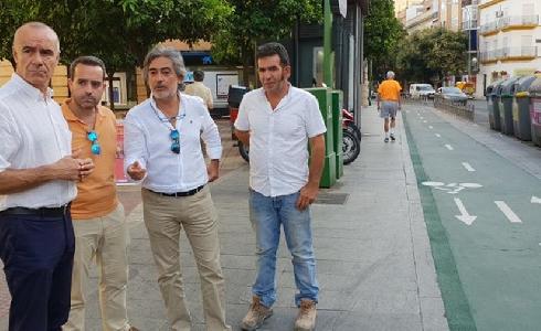 El Ayuntamiento de Sevilla renueva el contrato de mantenimiento de vías ciclistas e invertirá 360.000 euros