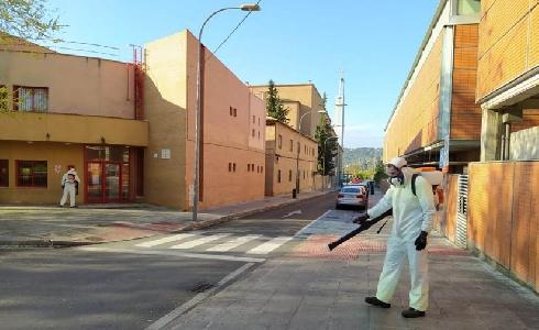 El Ayuntamiento de Toledo incorpora nuevos medios al servicio de limpieza y desinfección frente al Covid-19