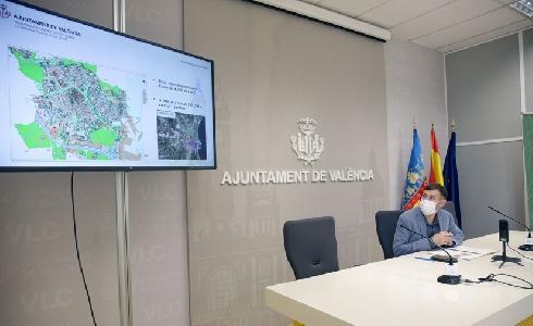 El Ayuntamiento de Valencia invertirá más de 6 millones de euros en 24 proyectos de jardines en 2021