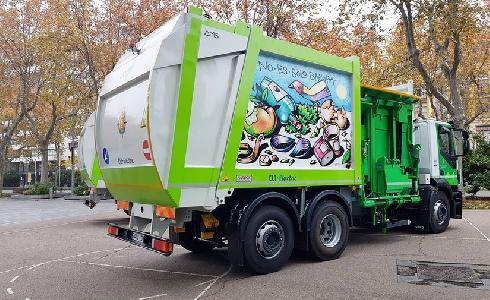 El Ayuntamiento de Valladolid incorpora recolectores Geesinknorba propulsados por GNC