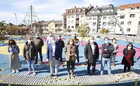 El barrio de A Cañiza, en Pontevedra, abre su parque central