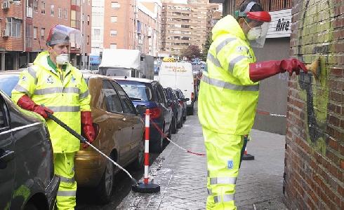 El barrio madrileño de Valdebebas contará con un servicio de limpieza innovador y de respuesta rápida al ciudadano