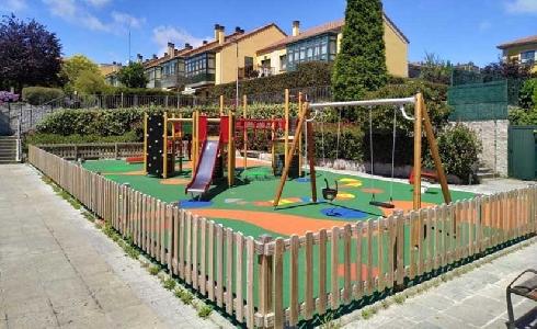 El Concello de A Coruña invierte más de 600.000 euros en la remodelación de parques infantiles