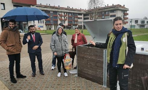El Concello de Gondomar inaugura un segundo centro de compostaje comunitario