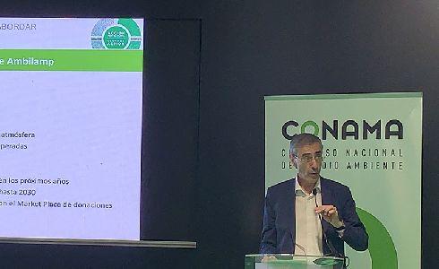 El Director General de AMBILAMP participa en la COP25 aportando su visión sobre la crisis medioambiental
