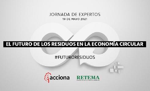El futuro de los residuos en la economía circular, a debate el próximo 19 de mayo