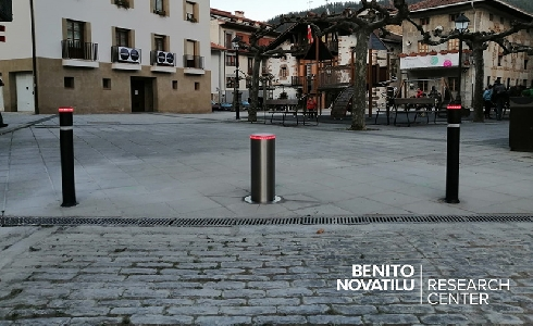 El Grupo BENITO NOVATILU presenta su nueva línea de pilonas flexibles HFLEX en un evento online