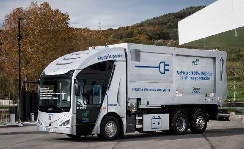 El Irizar ie truck, premiado en los premios World Smart City